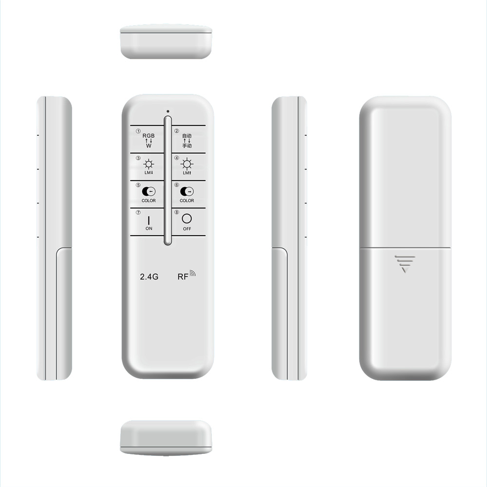 GHB-8399 8-Key 2.4G Wireless RF WIFI LED lighting Remote Controller