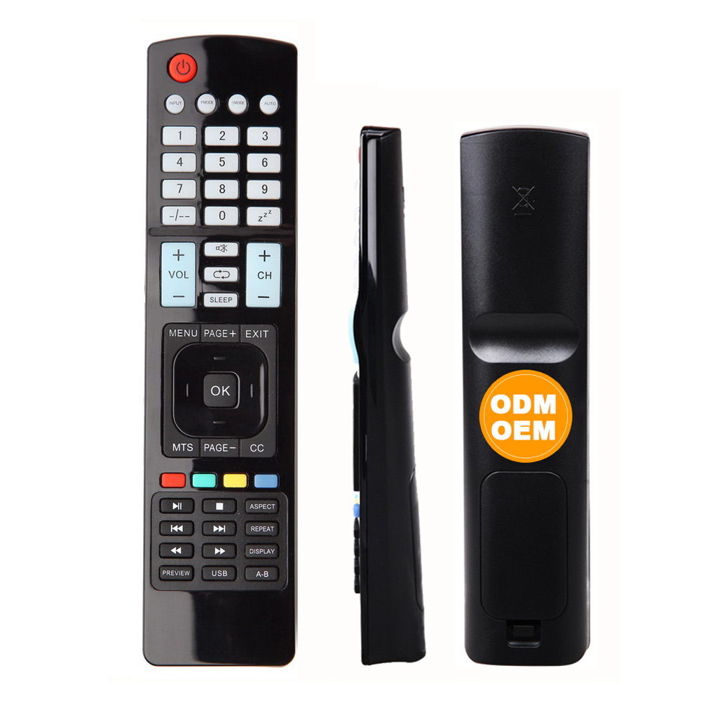 GHB-9955 39key to 51 key AV TV OTT DVB SAT  SET TOP BOX DVD STB learning TV Remote Controller